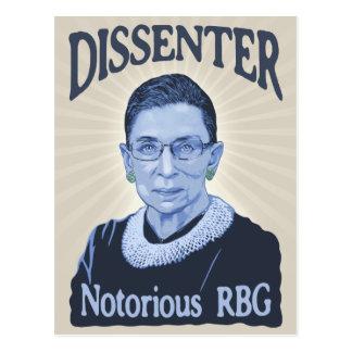 Notorious Dissenter Postcard
