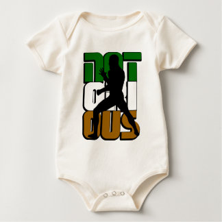Notorious MMA Irish NYC Baby Bodysuit