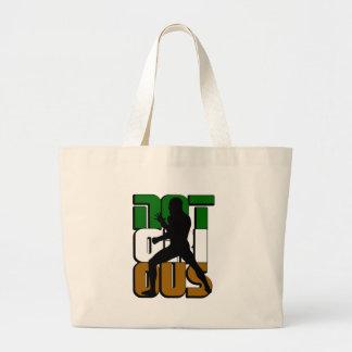 Notorious MMA Irish NYC Large Tote Bag