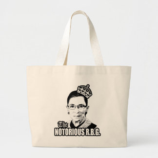 Notorious R.B.G. Large Tote Bag
