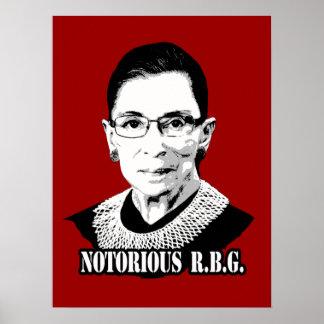 Notorious R.B.G. - Ruth Bader Ginsburg Posters