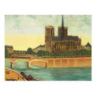 Notre-Dame  c.1933 Postcard