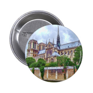 Notre-Dame Cathedral 2 Pinback Buttons