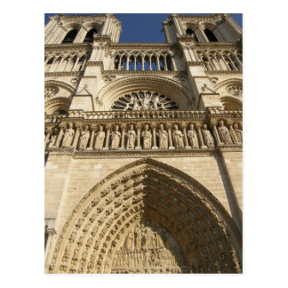 Notre Dame Cathedral in Paris Postcard
