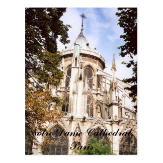 Notre Dame Cathedral, Paris Postcard