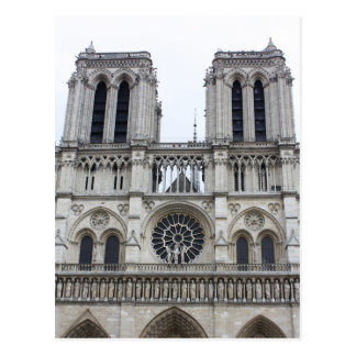Notre Dame cathedral Postcard