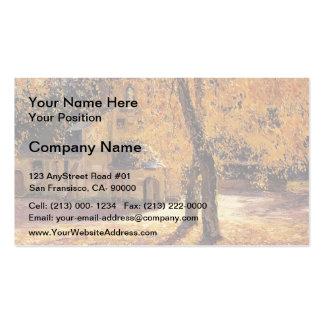 Notre Dame de Grace, Honfleur by Guy Rose Business Card Templates