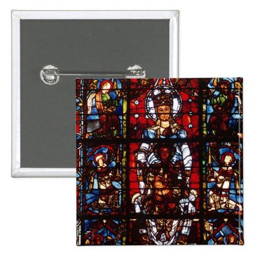 Notre-Dame de la Belle Verriere Pinback Button