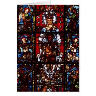 Notre-Dame de la Belle Verriere Greeting Card