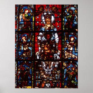 Notre-Dame de la Belle Verriere Print