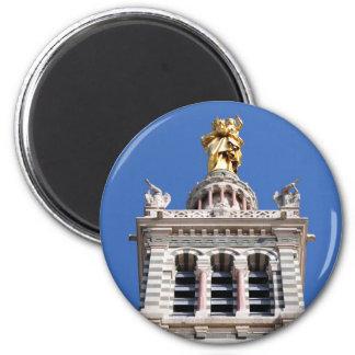 Notre Dame de la Garde 6 Cm Round Magnet