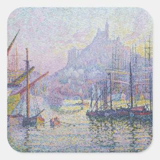 Notre-Dame-de-la-Garde La Bonne Mere Square Sticker