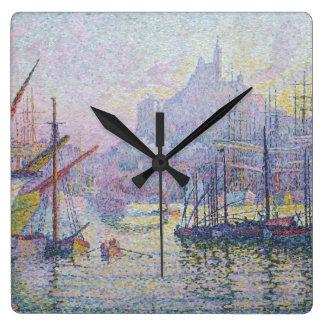Notre-Dame-de-la-Garde La Bonne Mere Square Wall Clock