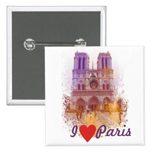 Notre Dame de Paris Buttons