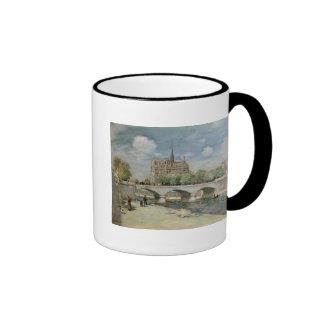 Notre Dame de Paris, c.1900 Coffee Mugs
