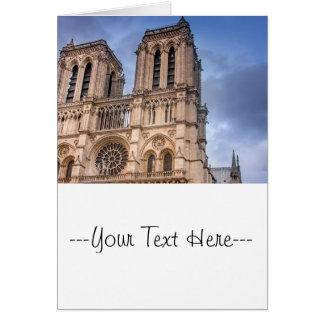 Notre Dame De Paris Greeting Card