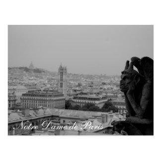 Notre Dame de Paris card Postcard
