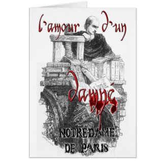 Notre Dame de Paris - Claude Frollo Greeting Card