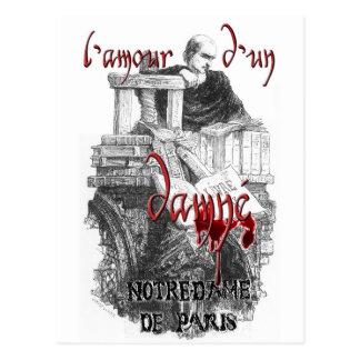 Notre Dame de Paris - Claude Frollo Postcard