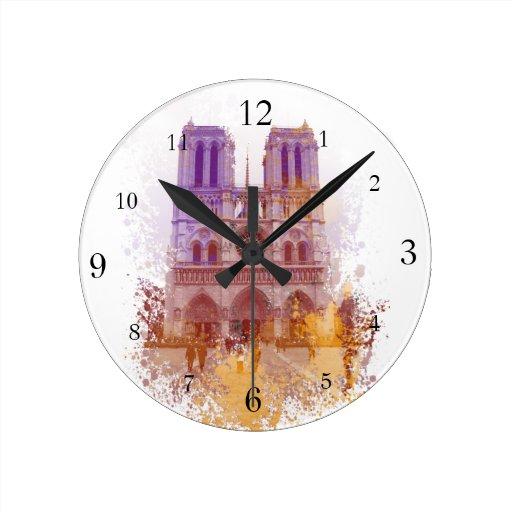 Notre Dame de Paris Clock