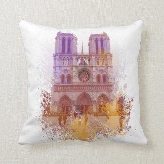 Notre Dame de Paris Pillow