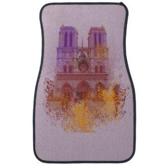 Notre Dame de Paris Floor Mat