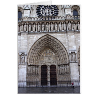 Notre-Dame de Paris France Card