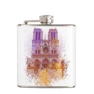 Notre Dame de Paris France Flasks