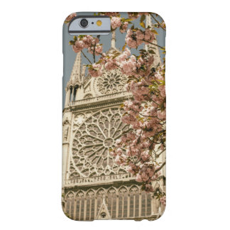 Notre Dame de Paris in Pink Spring Flowers Barely There iPhone 6 Case