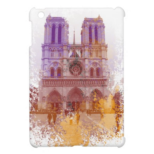 Notre Dame de Paris Case For The iPad Mini