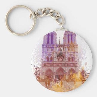 Notre Dame de Paris Keychain