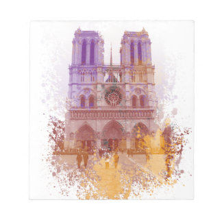 Notre Dame de Paris Memo Note Pads