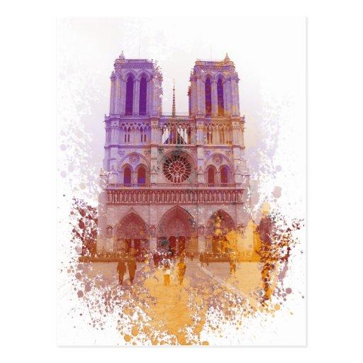 Notre Dame de Paris Post Cards