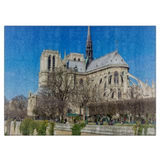 Notre Dame De Paris - Sunny Day Cutting Board