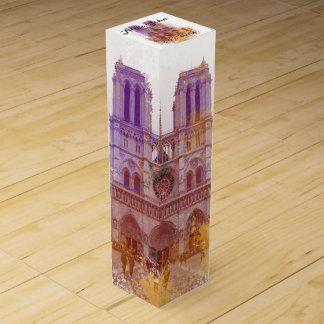 Notre Dame de Paris wedding Wine Boxes
