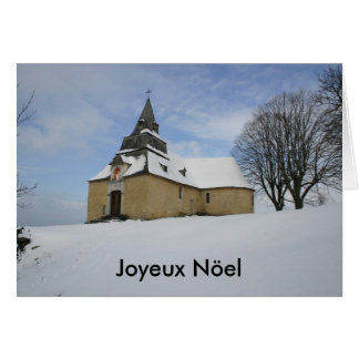 Notre-Dame-de-Piétat-Chapel, Joyeux Nöel Greeting Card