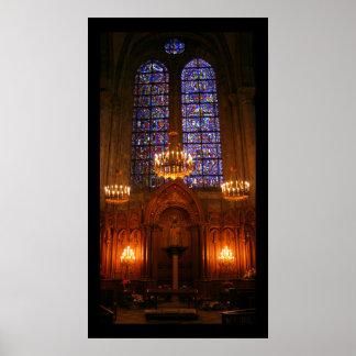 Notre Dame de Pilar Poster