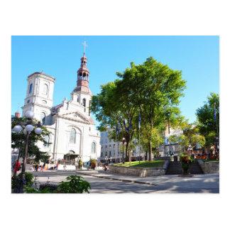 Notre Dame de Quebec Basilica Cathedral Postcard