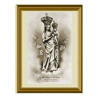 Notre Dame de Sion Protectrice de Lorraine Postcard