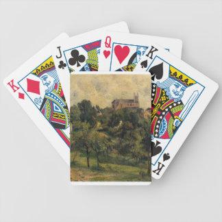 Notre Dame des Agnes by Paul Gauguin Bicycle Poker Cards