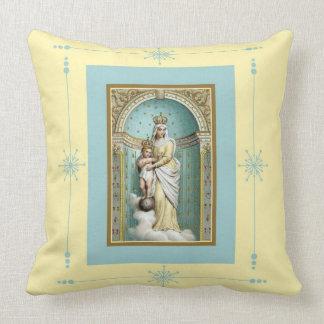 Notre Dame des Victoires w/Christ Child Cushion