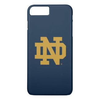 Notre Dame | Emblem Logo iPhone 8 Plus/7 Plus Case