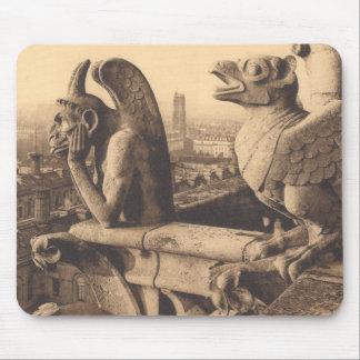 Notre Dame Gargoyle Mouse Pad