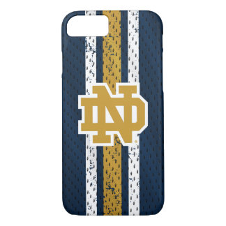 Notre Dame | Jersey Pattern iPhone 8/7 Case