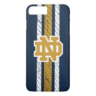 Notre Dame | Jersey Pattern iPhone 8 Plus/7 Plus Case