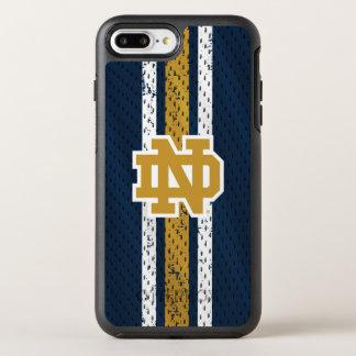 Notre Dame | Jersey Pattern OtterBox Symmetry iPhone 8 Plus/7 Plus Case
