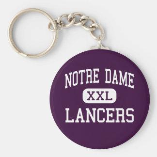 Notre Dame - Lancers - Catholic - Fairfield Keychains