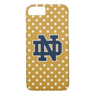 Notre Dame | Mini Polka Dots iPhone 8/7 Case