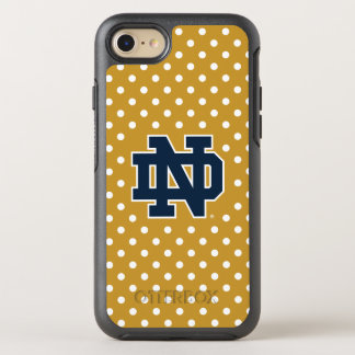 Notre Dame | Mini Polka Dots OtterBox Symmetry iPhone 8/7 Case
