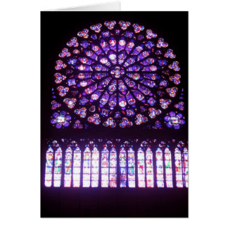 Notre-Dame, North Rose Card